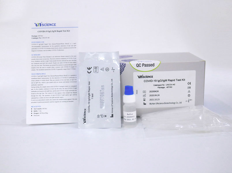 Rapid Covid 19 Testing Kit Coronavirus Test Kits Elabscience